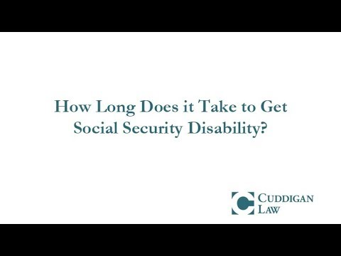 How Long Does it Take to Get Social Security Disability?