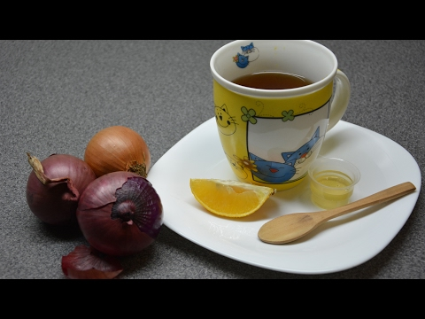 Onion tea - tea for bad cough (home remedy)