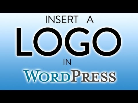 Insert Logo on Wordpress