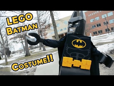 Custom-made LEGO Batman Movie Costume