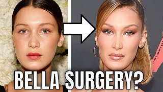 Bella Hadid; Plastic Surgery (2020)