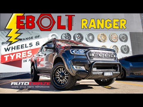 EBOLT RANGER // Ford Ranger Wildtrak Build - Fuel Stroke, Tyres & More