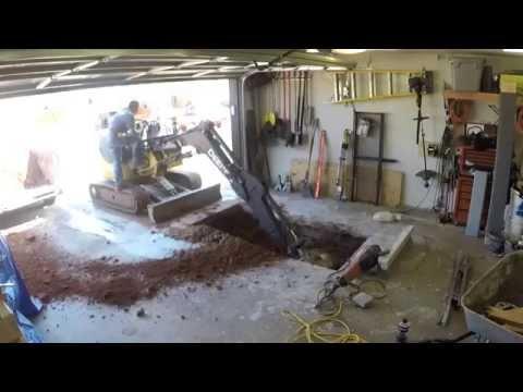 Underground Garage Storm Shelter Installation