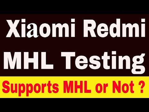 Redmi 3s Prime MHL Compatible or Not   Redmi 3s Prime MHL Support   MHL Cable for Redmi