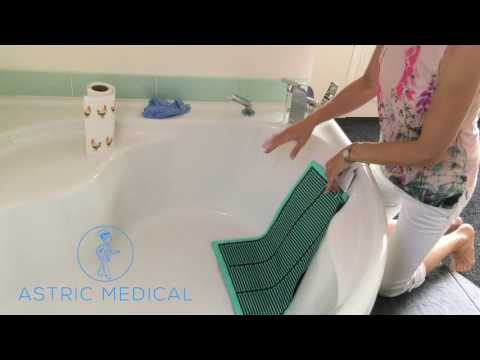 How to clean the Astric Dry-Bed Detector Pad