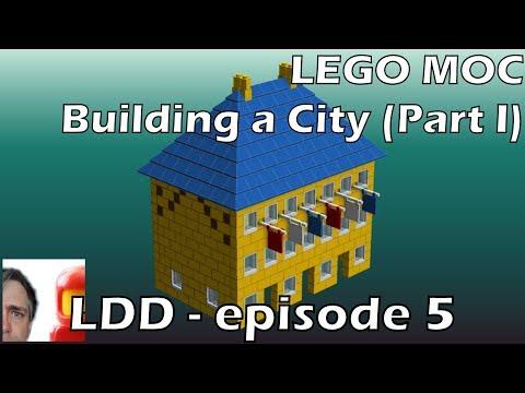LEGO Digital Designer - Episode 5:  Building A City (Part I)