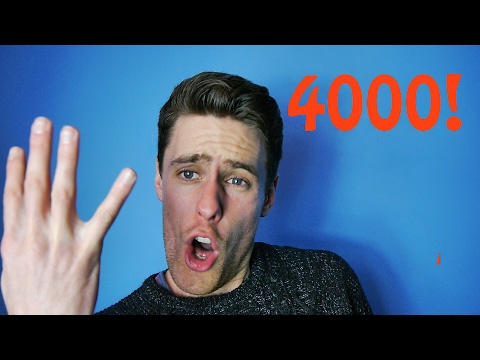 4000 subs, Thank You!