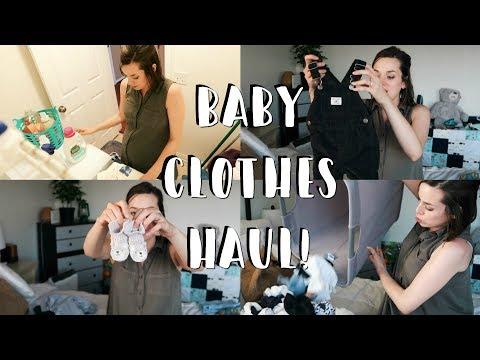 Baby Boy Clothing Haul + Baby Laundry Products