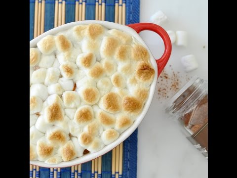 Thanksgiving Sweet Potatoes with Marshmallows by Cooking with Manuela
