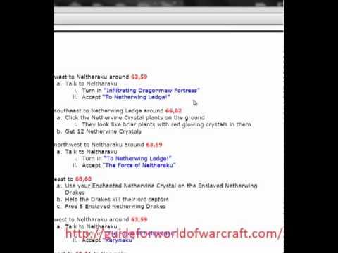 Zygor World Of Warcraft Nether Drake Mount Guide