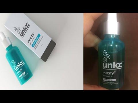 Unloc Mixify Anti Aging Serum Review - Vitamin C Serum