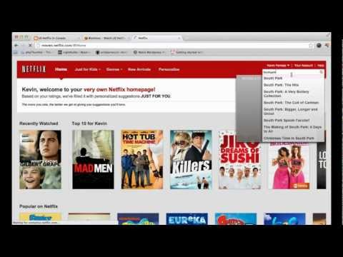2014 HOW to watch US NETFLIX in CANADA *WORKING*
