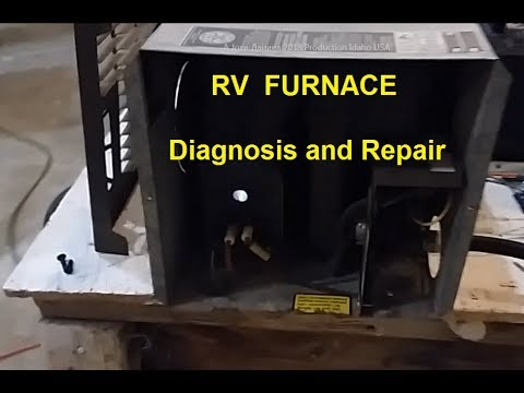 RV Heater Fan replacement & Info below fix your own furnace  ↙