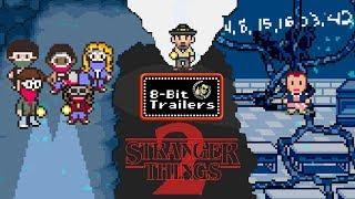 Download STRANGER THINGS 2 - 8-Bit Trailers (2017) Netflix original series Video