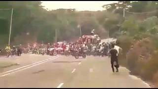 Download Truck carrying Sugar Looted in Western Venezuela Video
