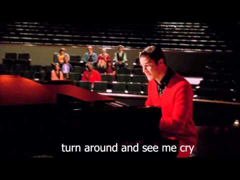 Against All Odds (Take a Look at Me Now) - (Glee Cast) (lyrics)