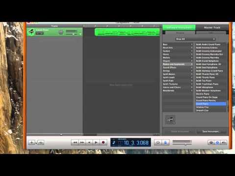 Garageband 11- how to write sheet music