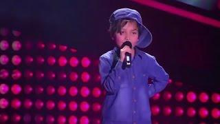 Matthew cantó 'Boyfriend' de Justin Bieber   La Voz Kids Colombia - Audiciones a ciegas - T1