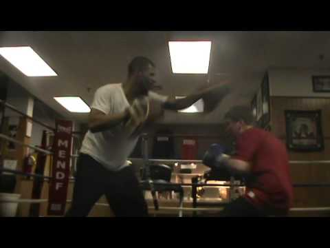 French boxers at Mendez Boxing, NYC