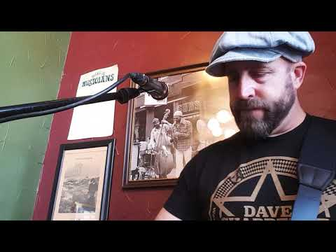 Cover Me Up -Jason Isbell cover solo live at Potbelly Sandwich Shop in Baltimore