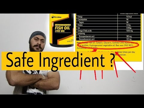 Is safe to consume? Muscleblaze fish oil capsule Review (ingredients knowledge)