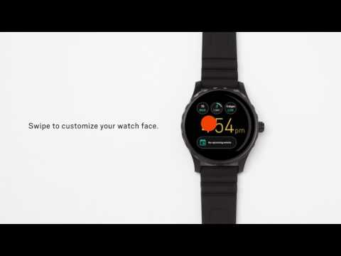 How To Set Up Your Fossil Q Smartwatch With Android Wear 2.0