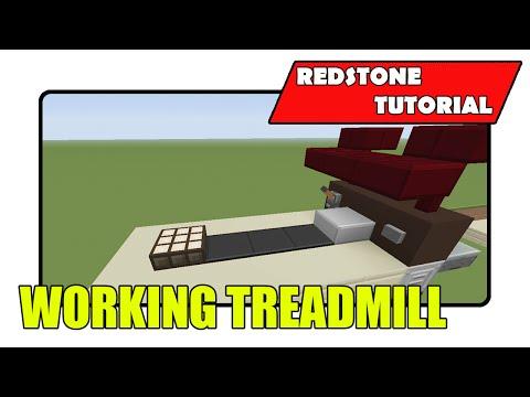 Working Treadmill (Minecraft Xbox TU20/PlayStation CU8)