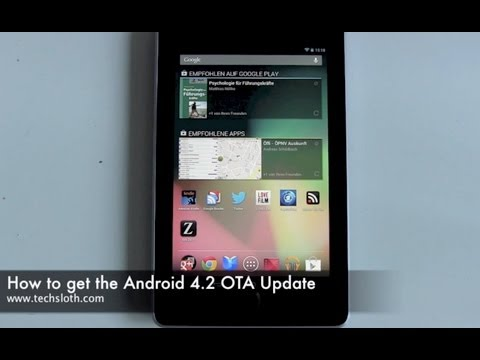How to get the Android 4.2 OTA Update