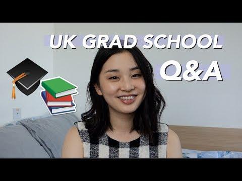 UK Grad School Q&A 🇬🇧🎓 | Choosing a Program, Budgeting, Living Abroad