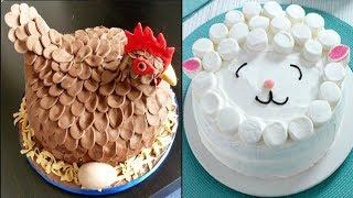 Top 25 Amazing Birthday Cake Decorating Ideas - Cake Style 2017 - Oddly Satisfying Cake Decorating