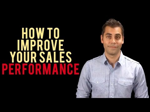 How To Improve Your Sales Performance