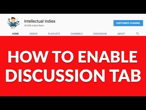 How to Enable Discussion Tab On your Channel | Youtube Hidden Features | Hindi