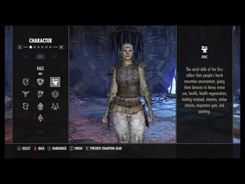 ESO Best Race For Your Class