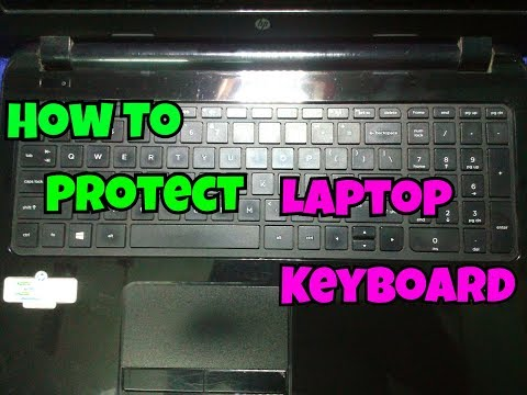 How To Protect Laptop Keyboard...Protect Your Laptop Keyboard From Dust And From Any Kind Of Liquid.