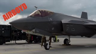 The F-35A At Lielvarde Air Base, Latvia