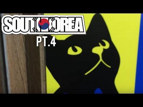 South Korea 2015 #4 - Cat cafe! (Itaewon/Myeongdong)