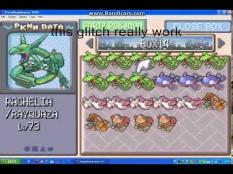 pokemon emerald glitch ep 5:how to clone legendary pokemons