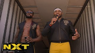 A member of the NXT Universe reads The Street Profits