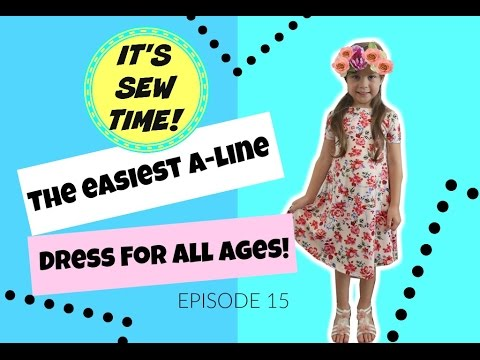 THE EASIEST DIY A-LINE DRESS FOR ALL AGES