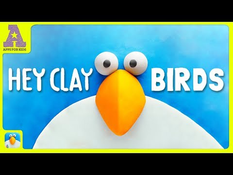 HEY CLAY BIRDS | Awesome Fun Apps for Kids