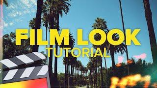 Film Look Tutorial - Final Cut Pro X