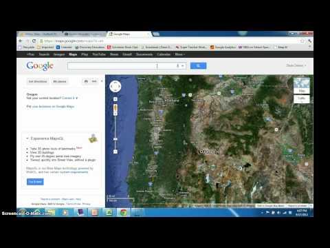 Latitude and Longitude with Google Maps