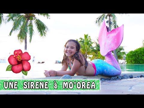 SIRENE à MO'OREA sous la pluie ! 🐠 / Moorea Family vlog / Tahiti Vlog