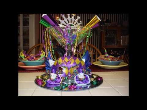Mardi gras party themed decorating ideas