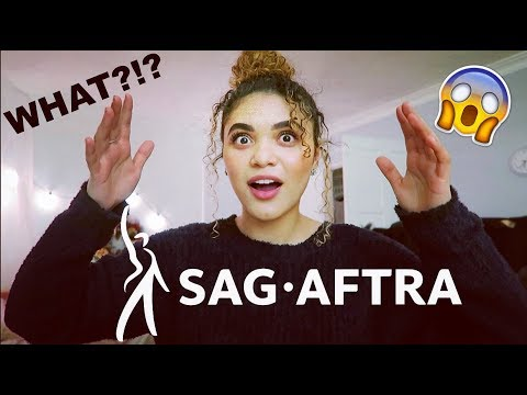 UPDATE: BECOMING A SAG MEMBER  AND LEAVING MY DAY JOB!!!