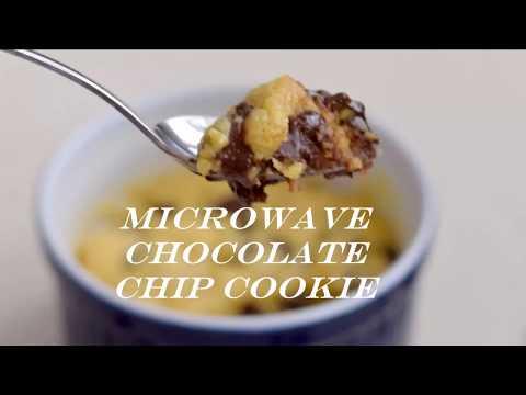 Individual Microwave Chocolate Chip Cookie Recipe