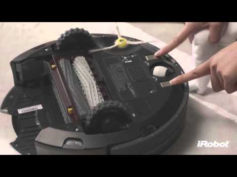 iRobot Roomba 800 series- How to clean the sensors