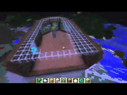 Let's Build a Minecraft Server ep1   Spawn Point   Minecraft Timelapse
