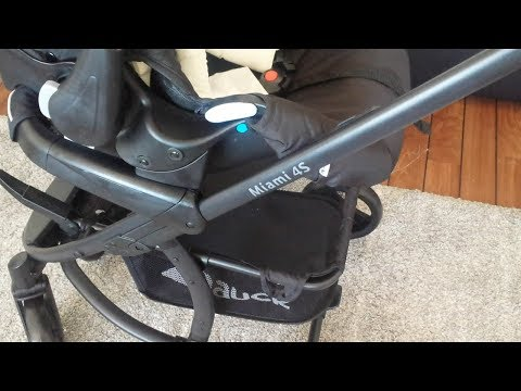 how to take out baby car seat in hauck miami 4s baby carrier