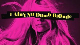 Avril Lavigne feat. Nicki Minaj - Dumb Blonde (Lyric Video)